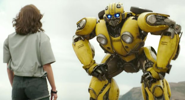 Bumblebee Trailer screen grab Credit: Paramount Pictures