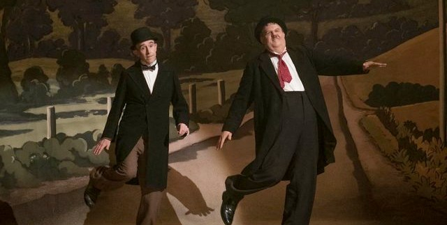 john c. reilly and steve coogan in stan & ollie (2018)